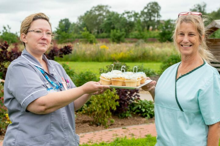 Nurses With Cupcakes