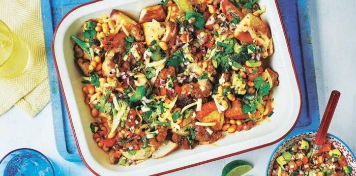 Sausage-and-bean-bagel-nacho-recipe-copy.jpg