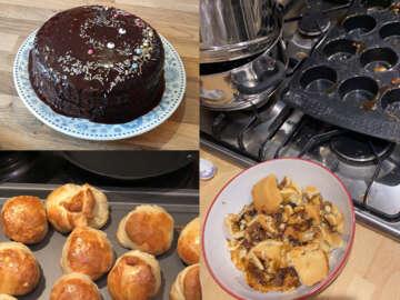 Baking Fail Collage