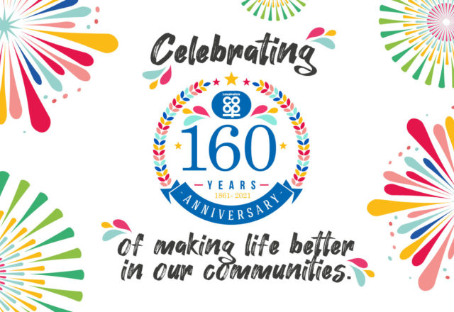 It's our 160th Birthday