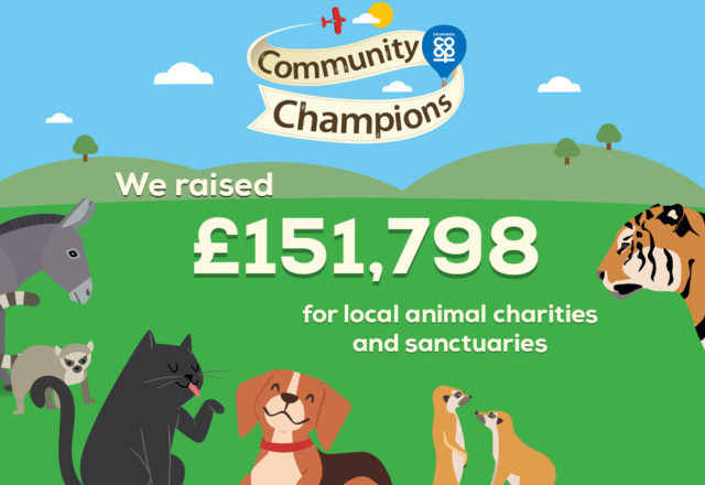 A roarsome amount raised for local animal charities