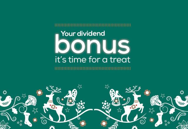 Dividend bonus paid out