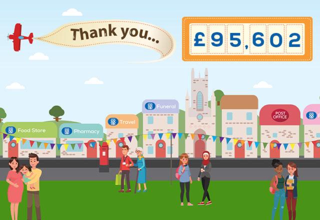 £95,000 raised for community groups