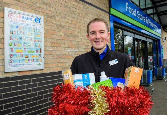 Shoppers to support local food banks