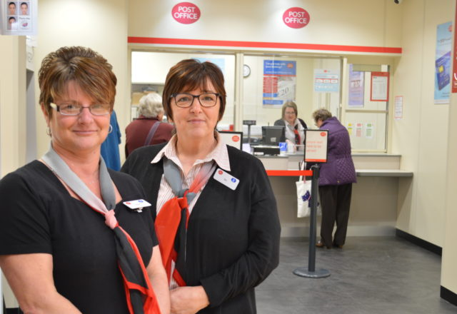 Post office opens inside revamped food store