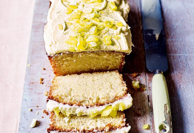 Cloudy lemonade cake (V)