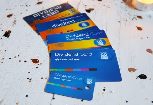 Dividend card reaches 20 years