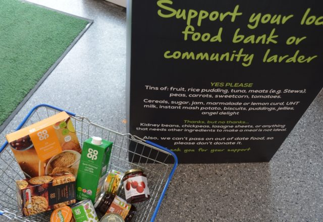Supporting local food banks
