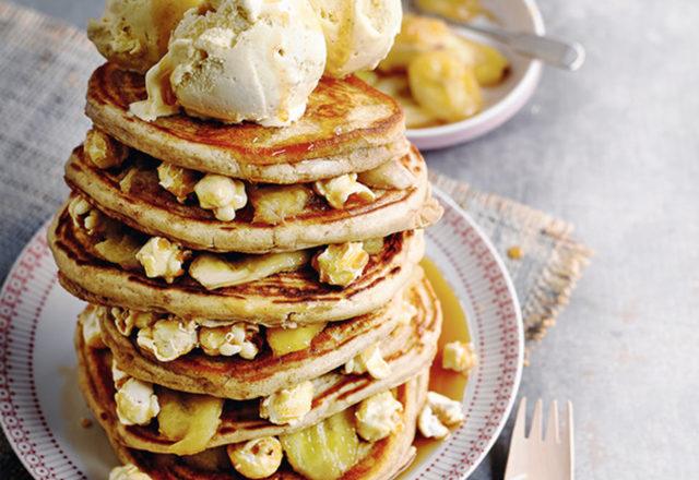 Freakshake pancake stack (V)