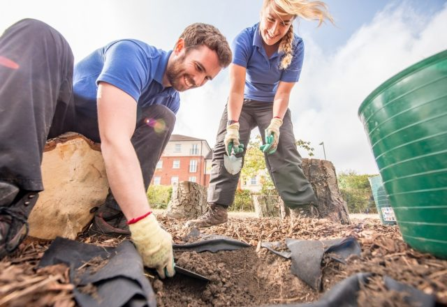 Helping green spaces together