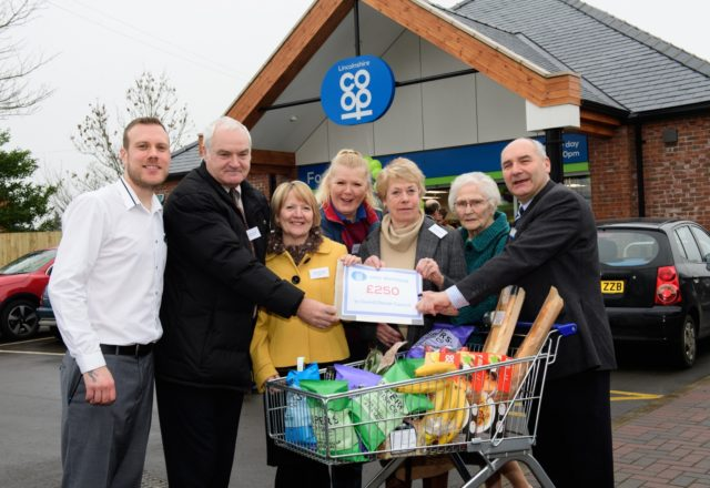 Charities benefit from new store opening