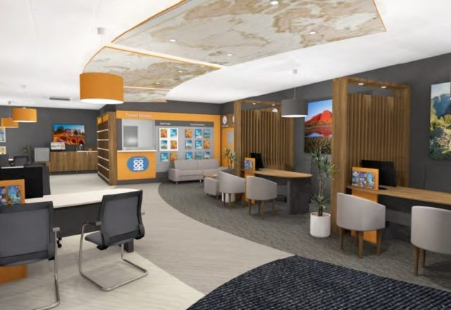 Travel branch moves to Grantham centre