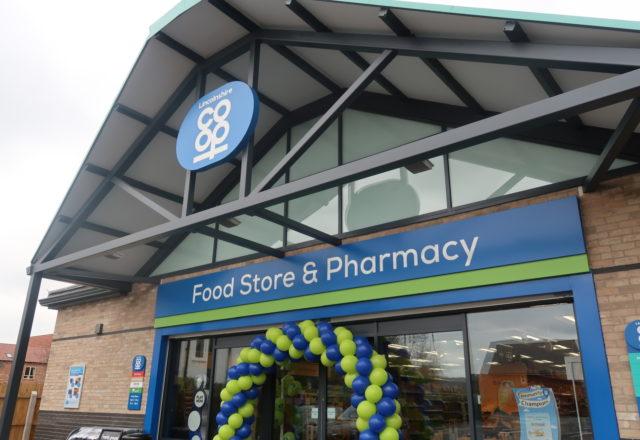 New food and pharmacy hub opens