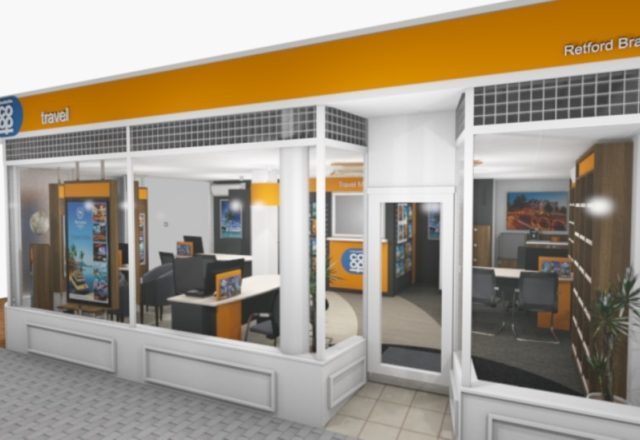 Opening set for new travel branch