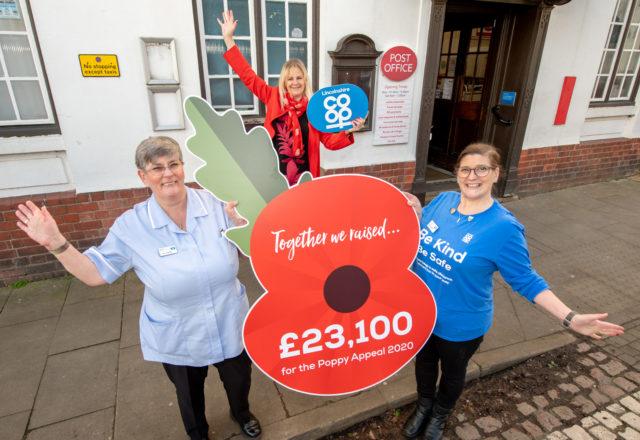 Volunteers step in to raise £23K for Poppy Appeal