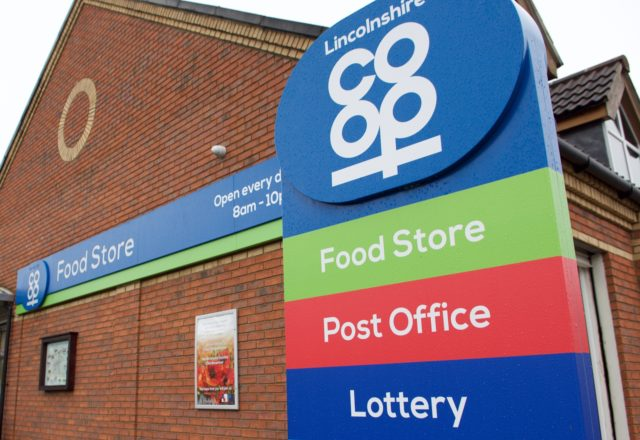 Food store refit creates home for post office