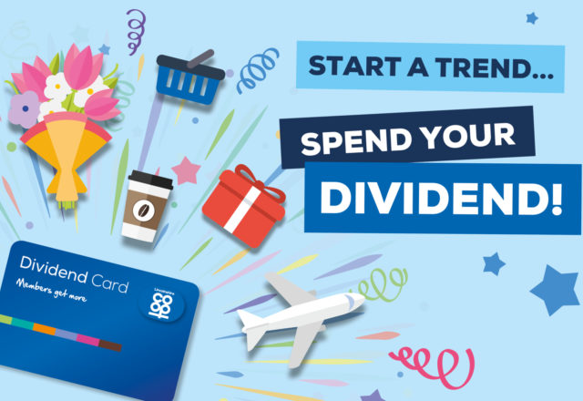 Spend your dividend!