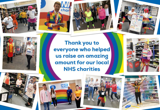NHS fundraising success!