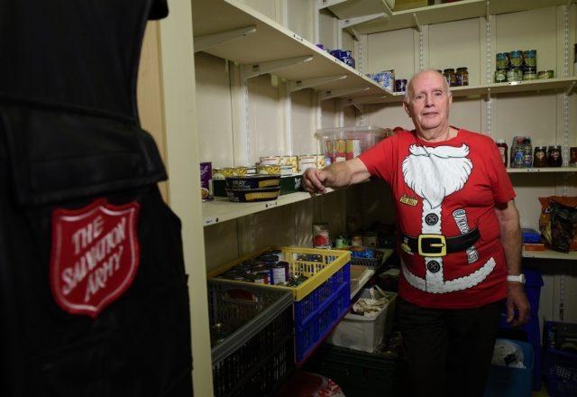 Food banks feeding families this Christmas