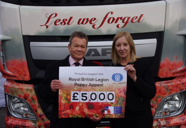 £5k donation to the Poppy Appeal