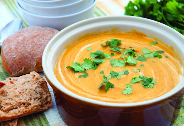 Pumpkin soup for hungry monsters
