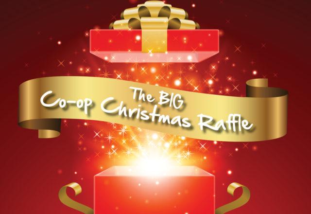The BIG Co-op Christmas raffle