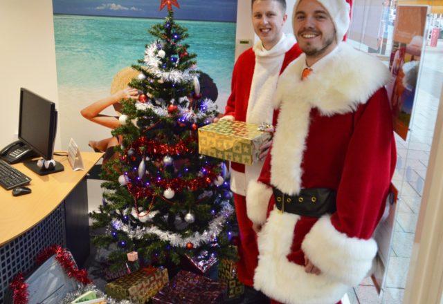 Santa's Suitcase gift appeal boosts food banks