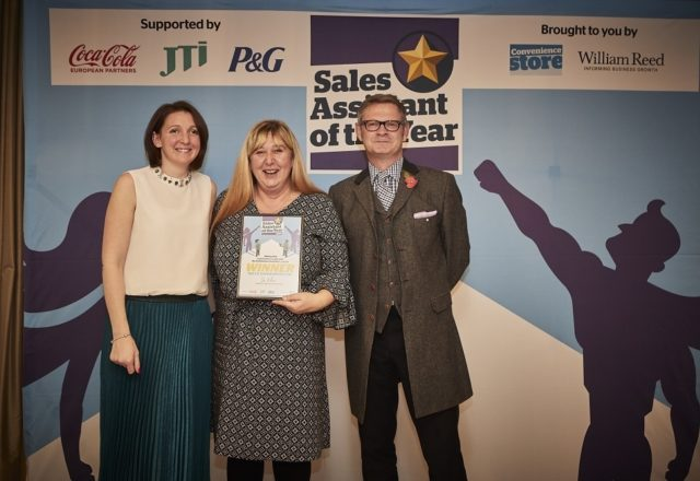 Stellar colleague Shirley wins award
