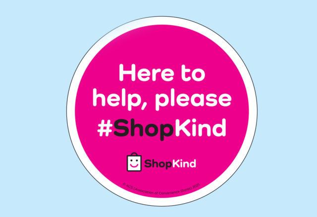 Keeping safe reminder on ShopKind Day