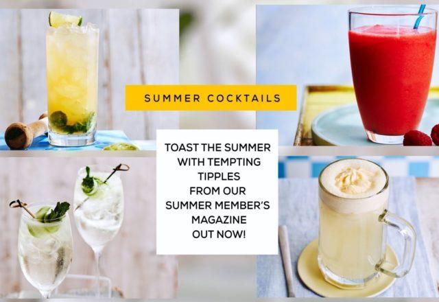Summer tipples