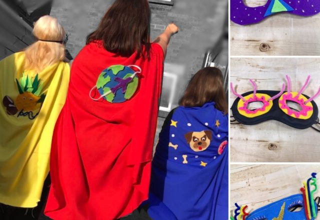 Make your own superhero outfit