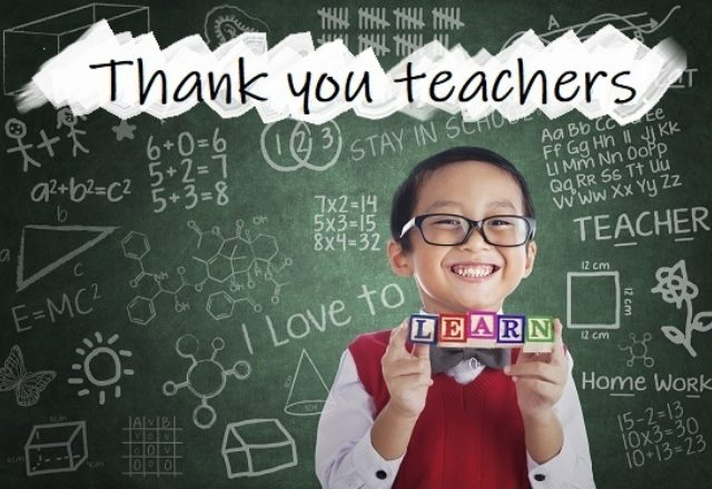 Thank your teachers with a personalised animation