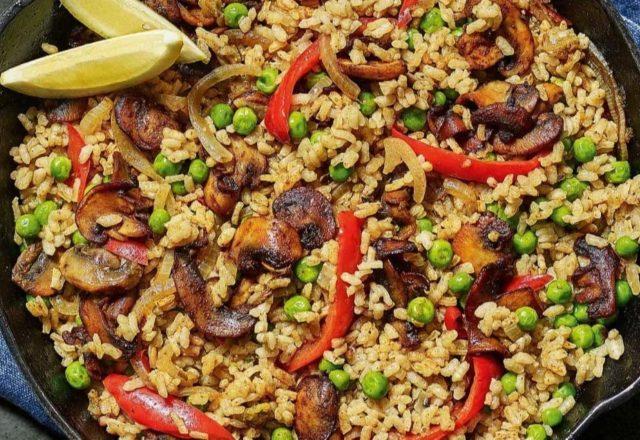 Vegan paella (Ve)