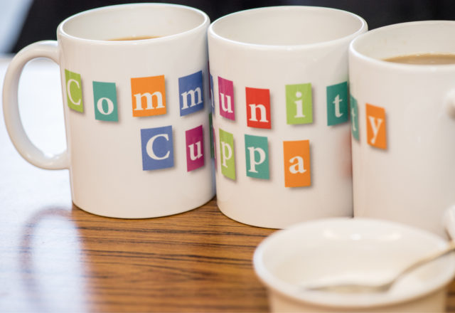 Get connected with a Community Cuppa