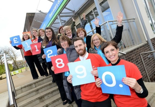 £112,890 to fight teenage cancer