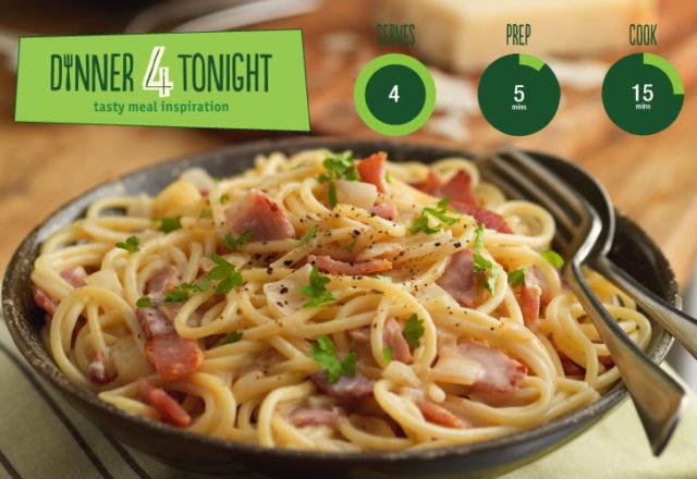 Recipe: Spaghetti carbonara