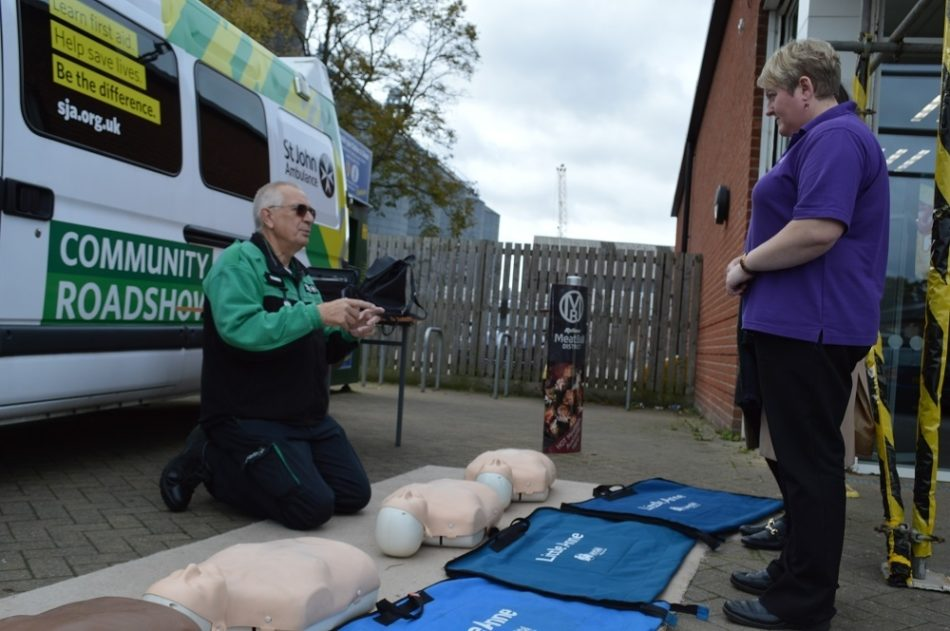 Cpr At Skirbeck Road Food Store 9