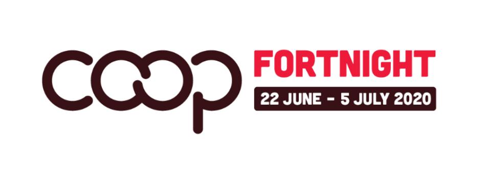 Co Op Fortnight 2020 Logo