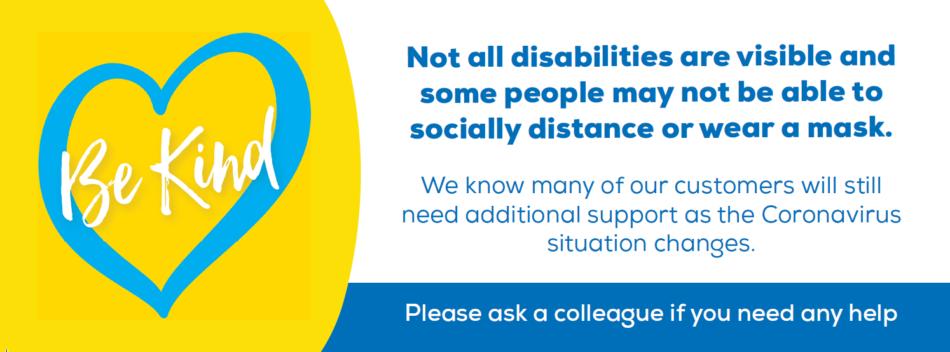 Disabilities Awareness Barker