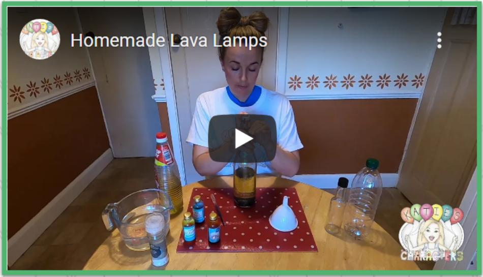Katies Characters Lava Lamps 2