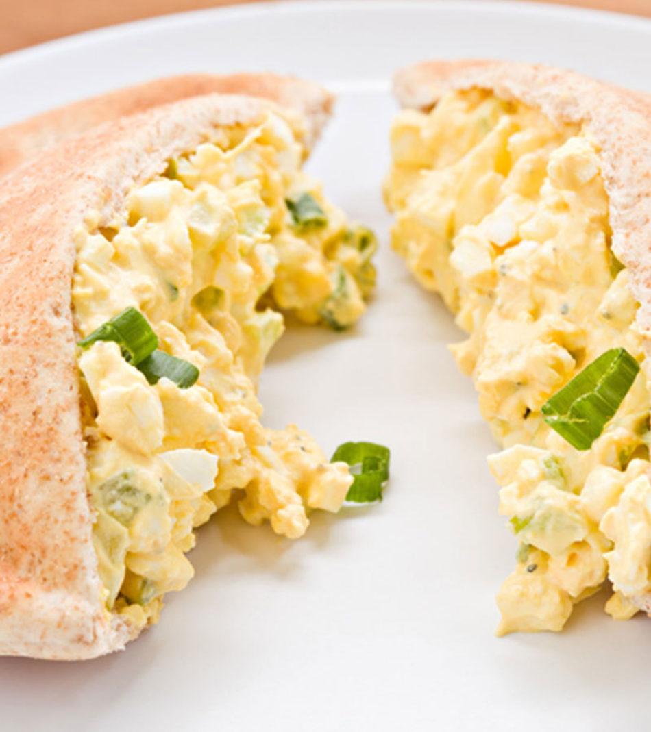 Scrambled Egg Pittas