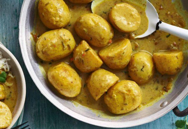 Bombay potato curry (Ve)