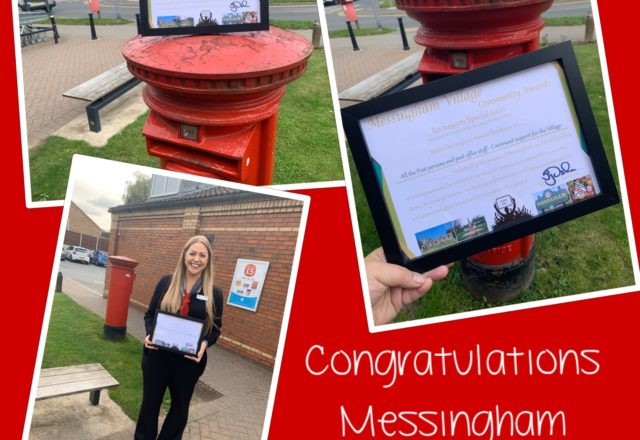 A special delivery for Messingham Post Office