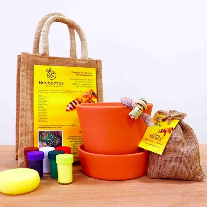 Bee Bomb gift set