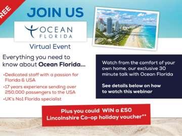 Ocean Florida Social Media