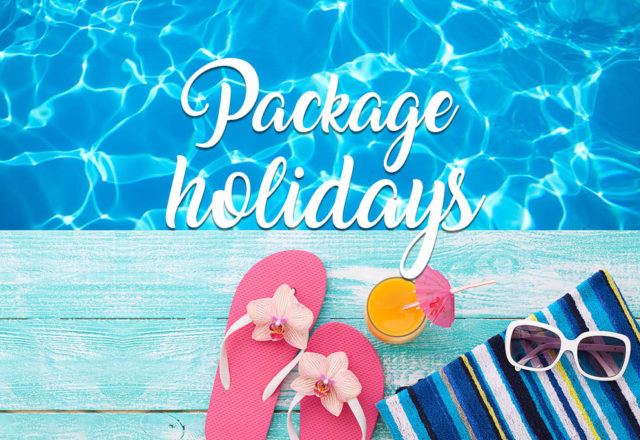 Your holiday, packaged for you