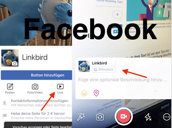 Facebook Live Stream Screenshot