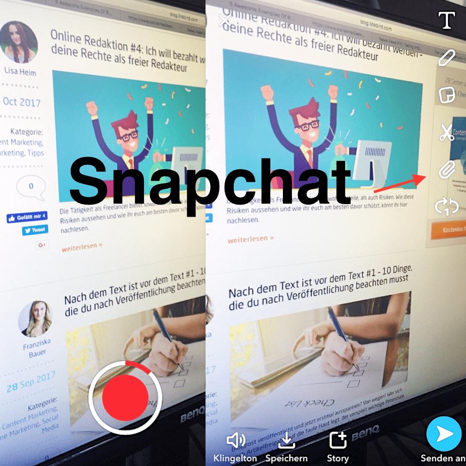 Snapchat Video Screenshot