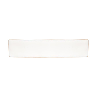 Accessoire cheveux créateur - Grande barrette en étain recouvert d'émail en or