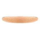 Accessoire cheveux créateur - Barrette ovale en étain or